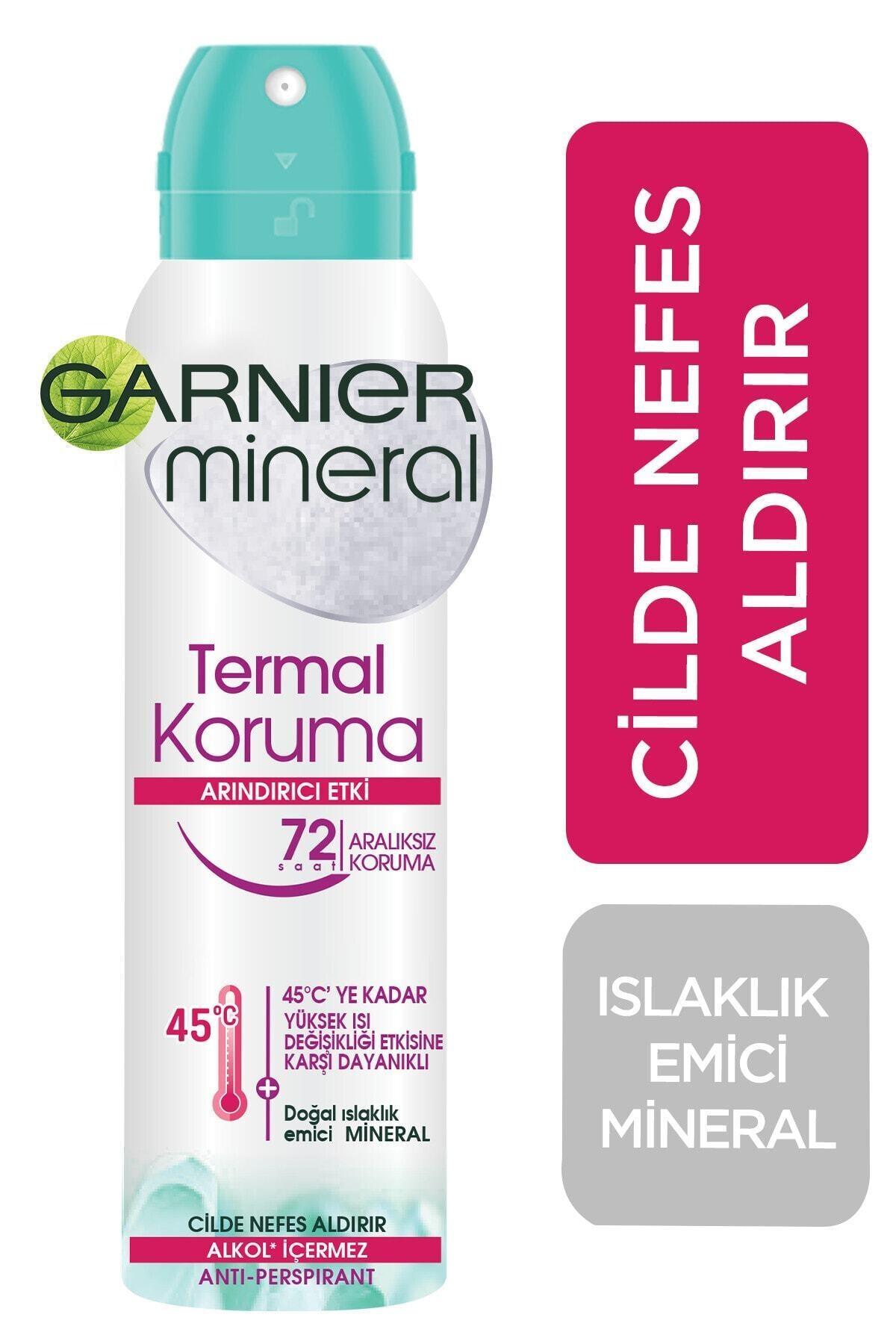 Garnier Anti- Perspirant Kadın Deodorant - Termal Koruma 150 ml 1