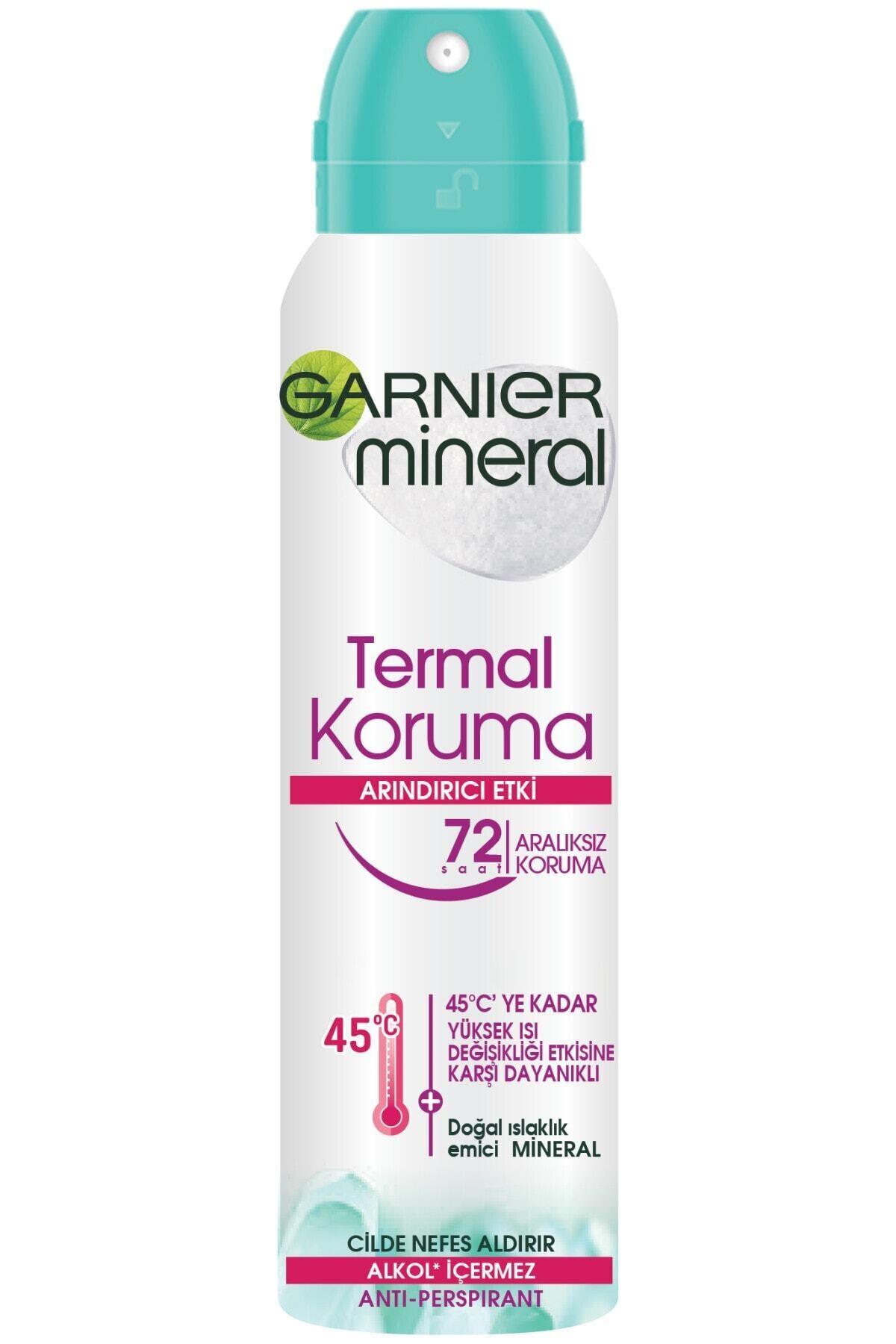 Garnier Anti- Perspirant Kadın Deodorant - Termal Koruma 150 ml 2