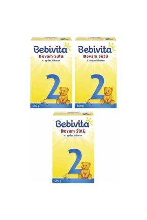 Bebivita 2 Bebek Sütü 500 Gr X 3 Adet