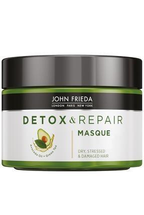 John Frieda Detoks Etkili Onarıcı Ve Besleyici Bakım Maskesi - Detox & Repair Masque 250 Ml