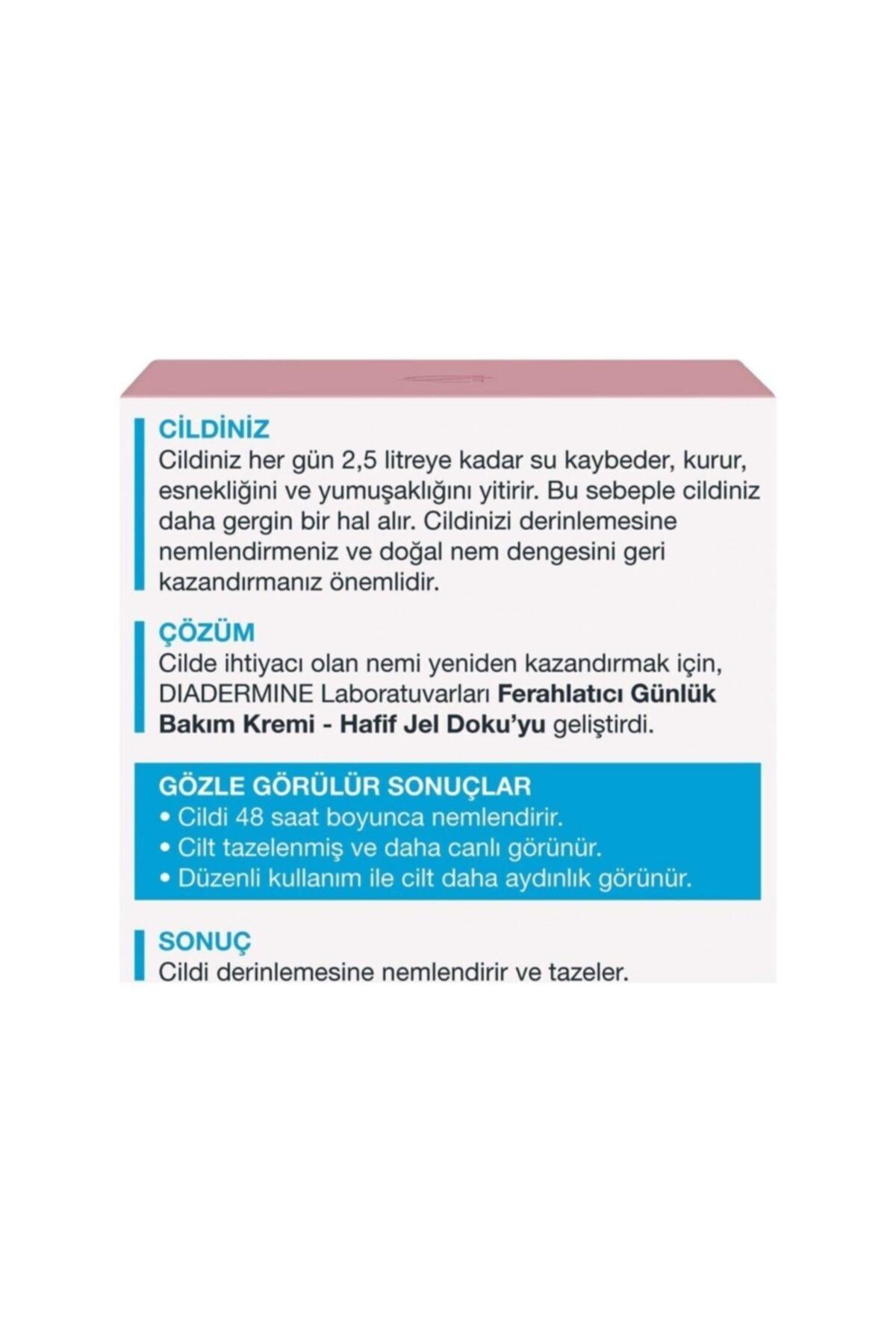 Diadermine Essentials 48 Saat Nemlendirici Jel Krem 50 ml 2