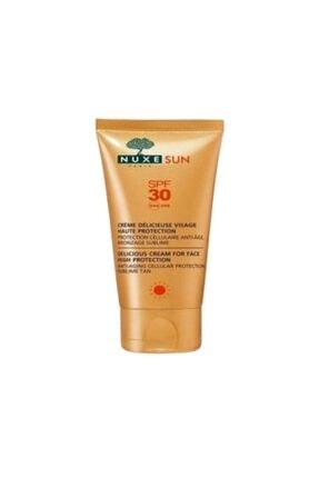 Nuxe Sun - Creme Delicieuse Visage Haute Protection Spf30 50ml - Güneş Koruyucu Yüz Kremi
