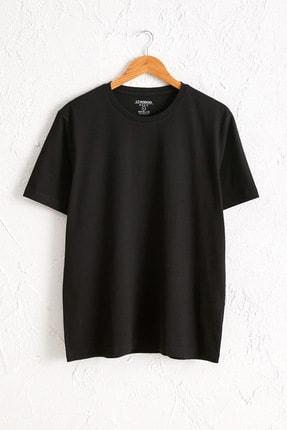 LC Waikiki Erkek Yeni Siyah Tişört 0W6609Z8