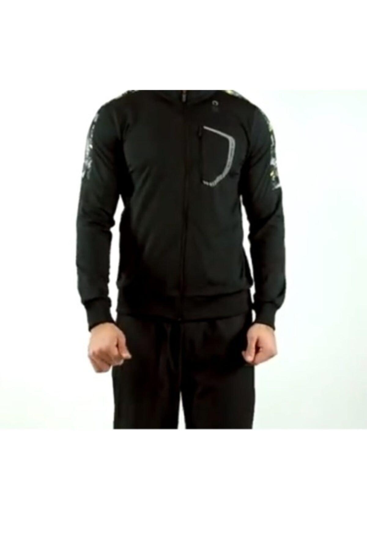 Lescon Unisex Siyah Sweatshirt 16n-1024 1