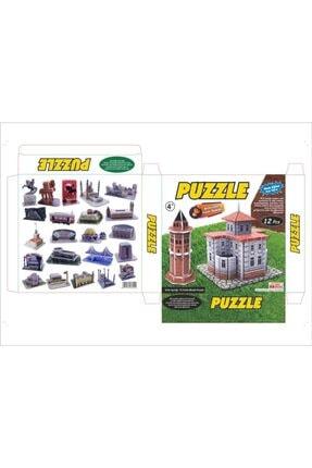 Ans Mini Puzzle 3d Yapboz 12 Adetli