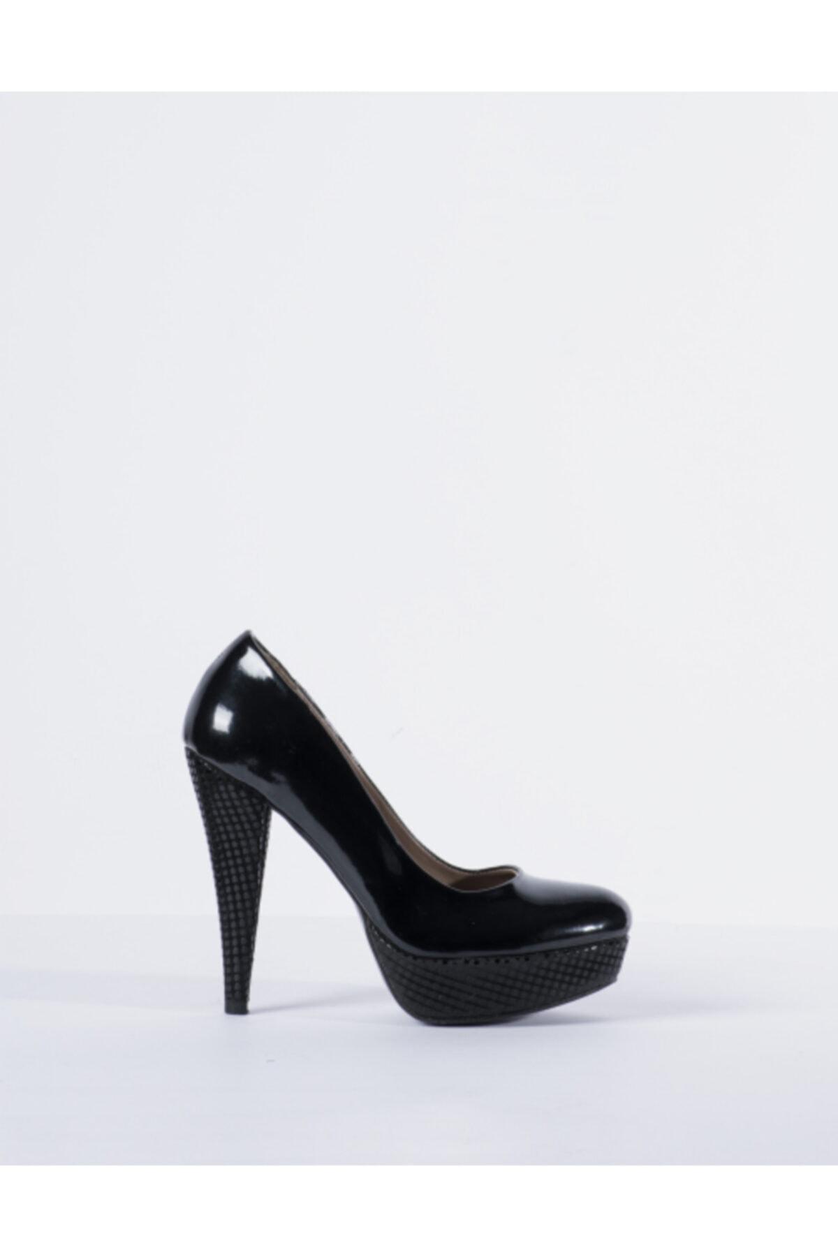 Vision Kadın Siyah Topuklu Ayakkabı 1