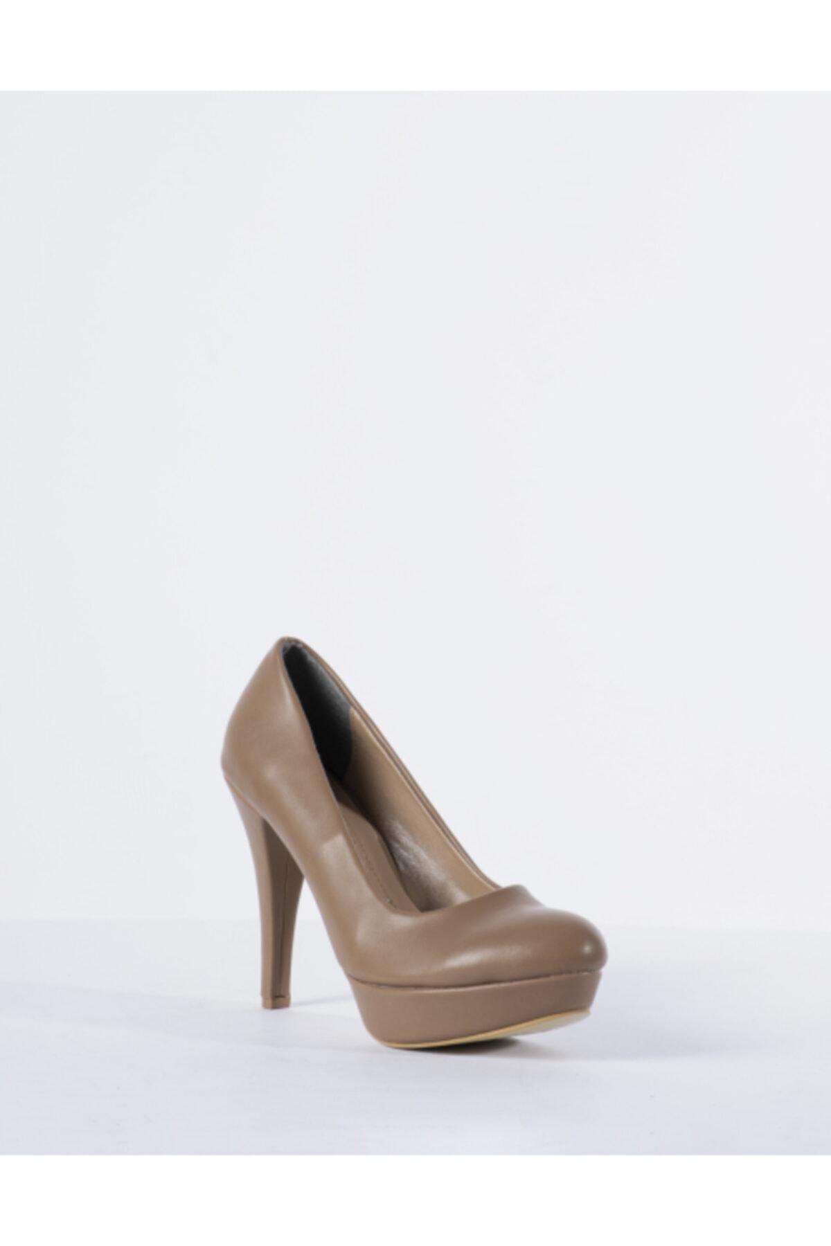 Vision Kadın Vizon Topuklu Ayakkabı 2