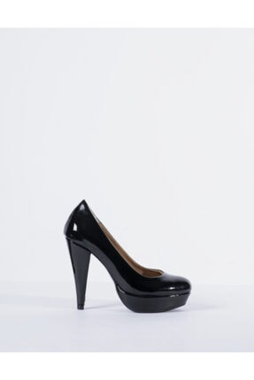 Vision Kadın Siyah Topuklu Ayakkabı