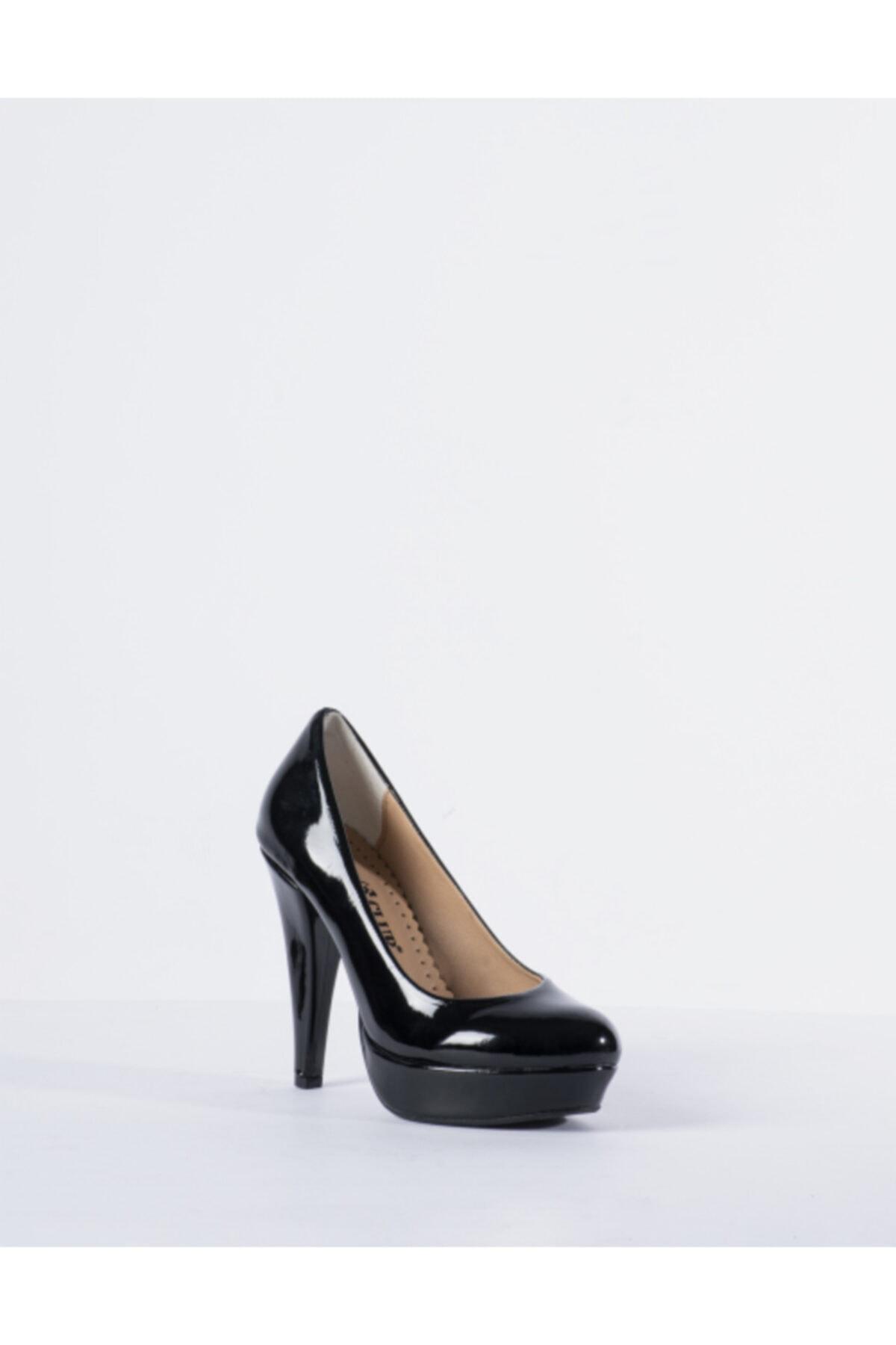 Vision Kadın Siyah Topuklu Ayakkabı 2