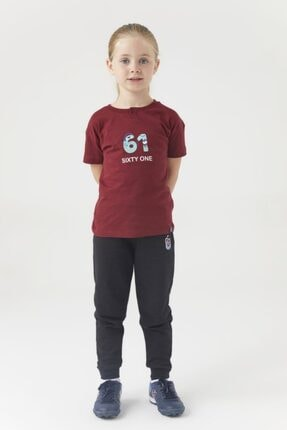 TSCLUB Trabzonspor Tshırt Çocuk Sixty-one Bordo