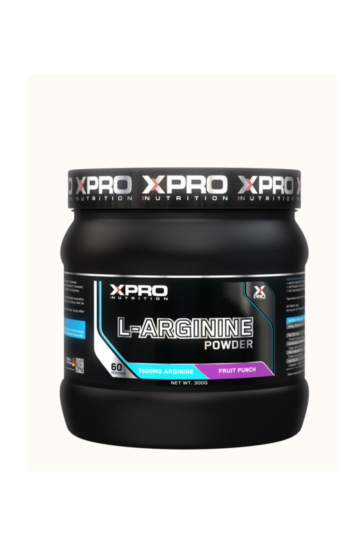 Xpro Nutrition L-arginine Powder 300gr - Karışık Meyve Aromalı 1