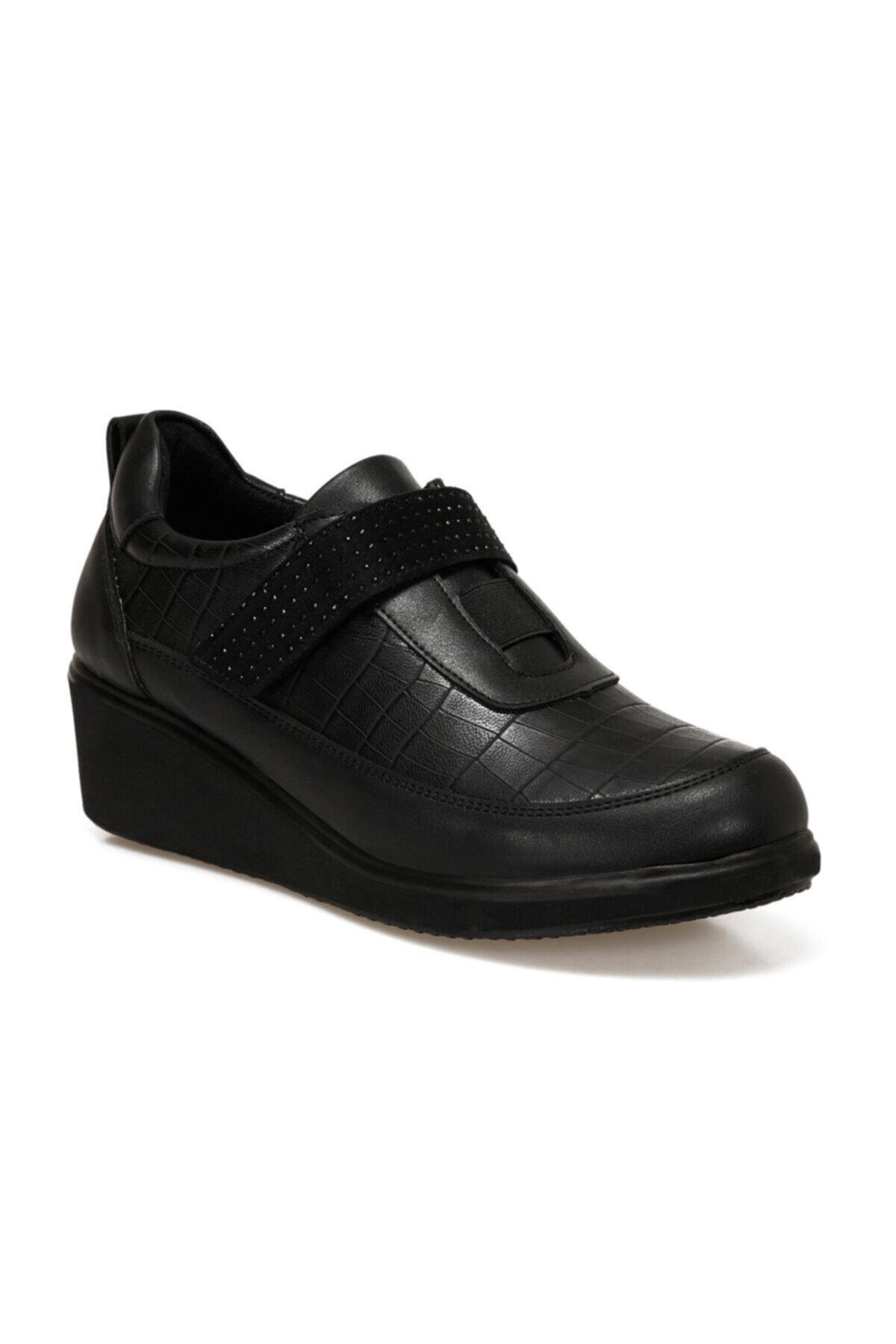 Polaris 161395.Z Siyah Kadın Comfort Ayakkabı 100548504 1