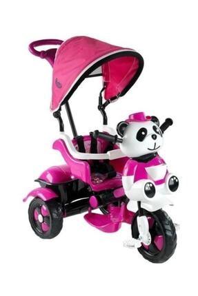 BabyHope 127 Little Panda Pembe Kontrollü Bisiklet