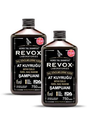 Revox At Kuyruğu Bitki Özlü Saç Bakım Şampuanı / 2 Li Set / 750 ml + 750 ml