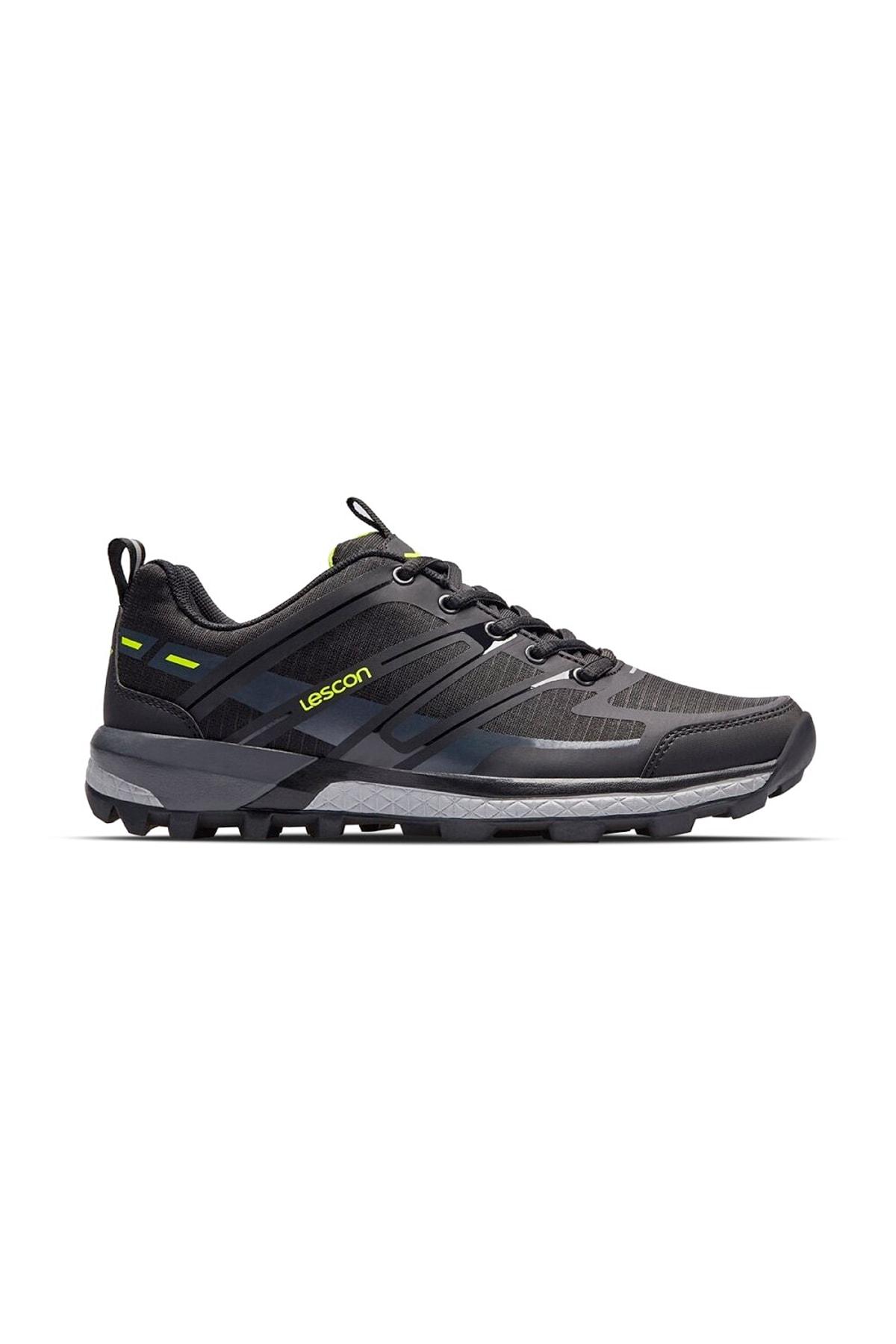Lescon Ly-traıl Axıs Günlük Unısex Spor Ayakkabı/siyah/44 2