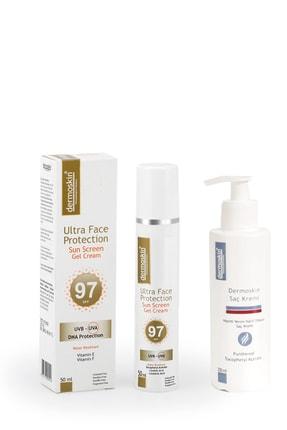 Dermoskin Ultra Face Protection Spf 97 + Saç Kremi Hediyeli Avantaj Paket 200 Ml