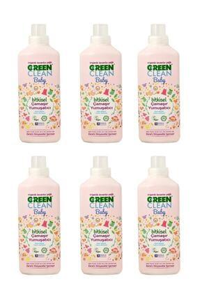 Green Clean Ugc Baby Çamaşır Yumuşatıcısı 1 lt - 6 Adet