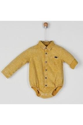 Panço Erkek Bebek Sarı Gömlek
