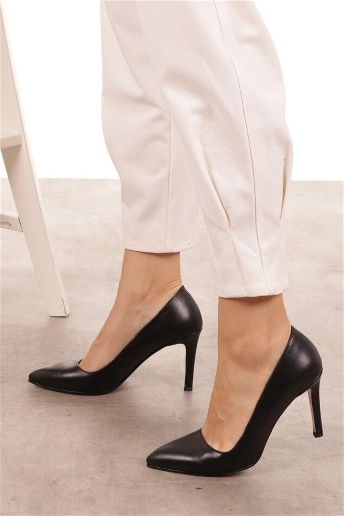 Mio Gusto Basic Siyah Stiletto 2