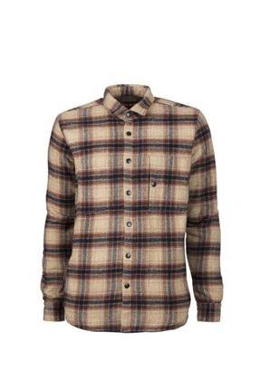 Bad Bear Erkek Kahverengi Slim Fit Oduncu Ceket Gömlek 20.02.30.015-