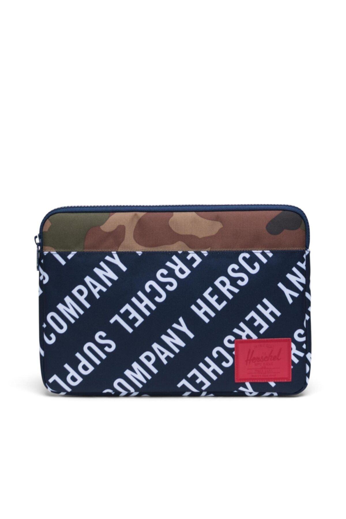 """Herschel Supply Co. Herschel Laptop Kılıfı Anchor Sleeve For 13"""" Peacoat/woodlandcamo 1"""