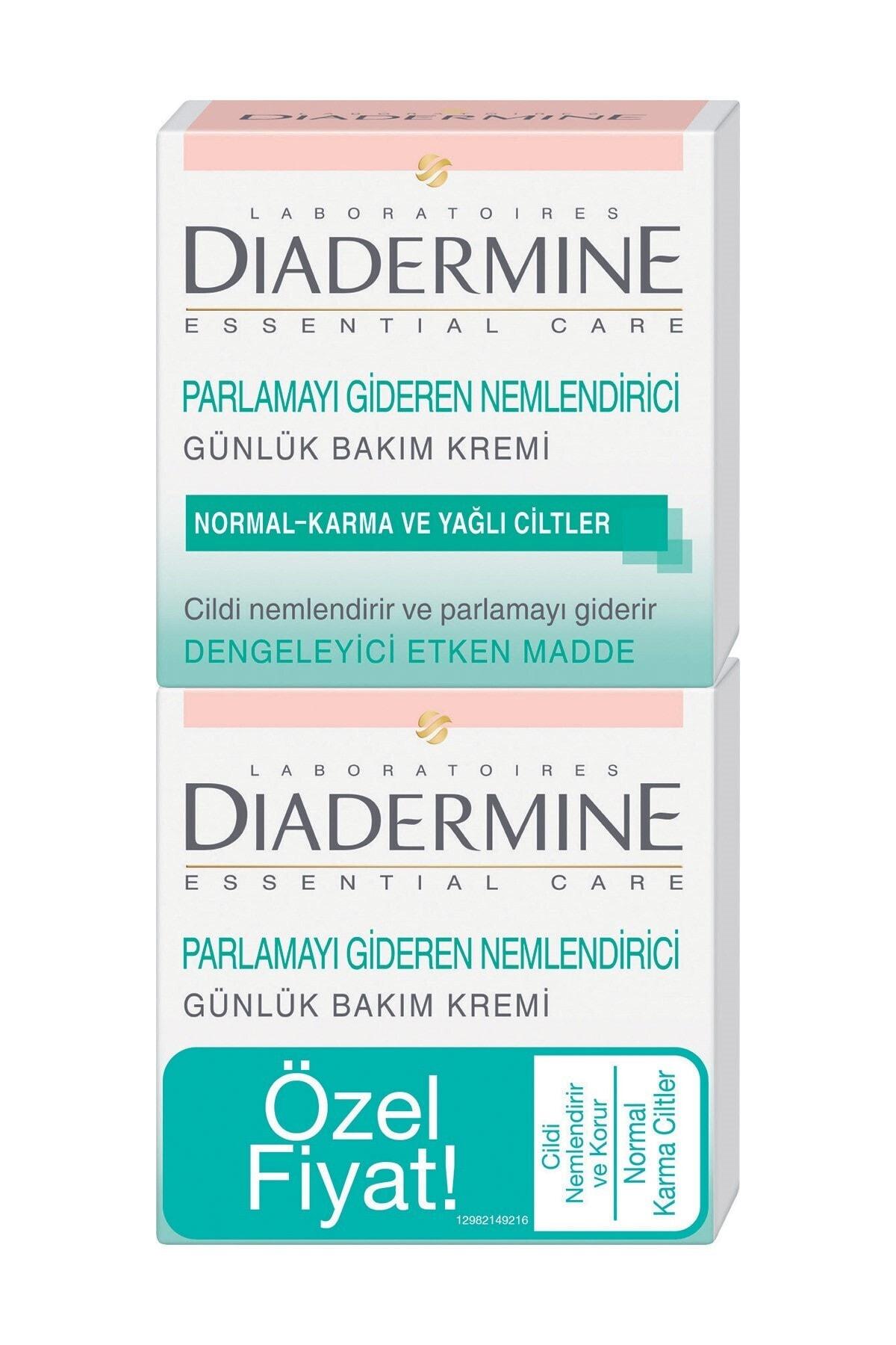 Diadermine Normal, Karma Ve Yağlı Ciltler Için Nemlendirici Bakım Kremi 2'li 50 ml 1