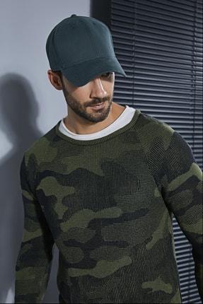 Sateen Men Erkek Yeşil Şapka