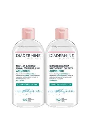 Diadermine Arındırıcı Micellar Kusursuz Makyaj Temizleme Suyu 400 ml X 2