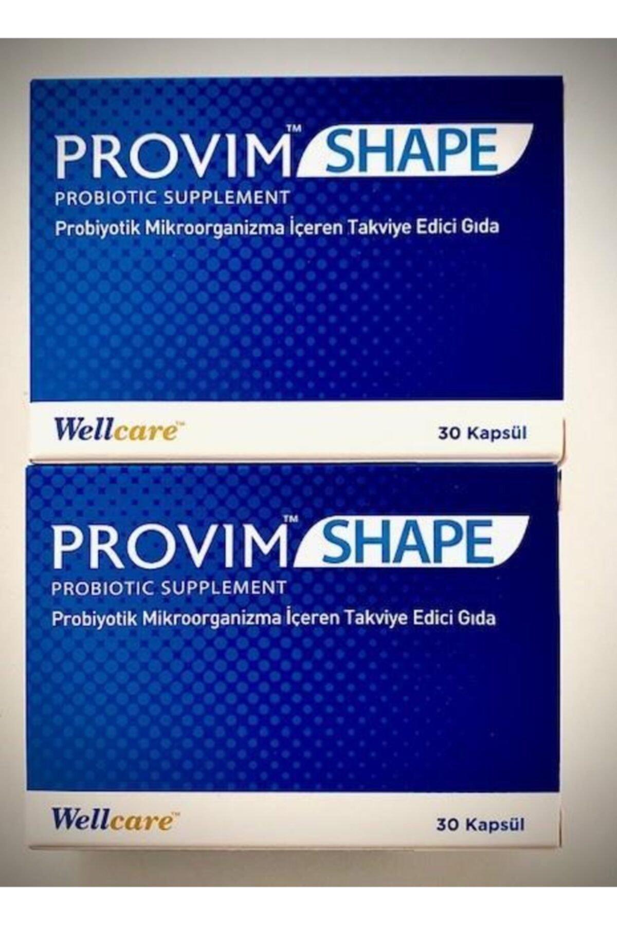 Wellcare Provim Shape Probiyotik 30 Kapsül*2 Adet Skt:12/2021 1