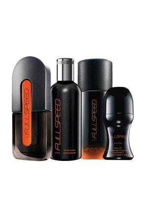AVON Full Speed Edt 75 ml Erkek Parfümü ve Erkekler için Tıraş Sonrası Bakım Seti 8681298983064