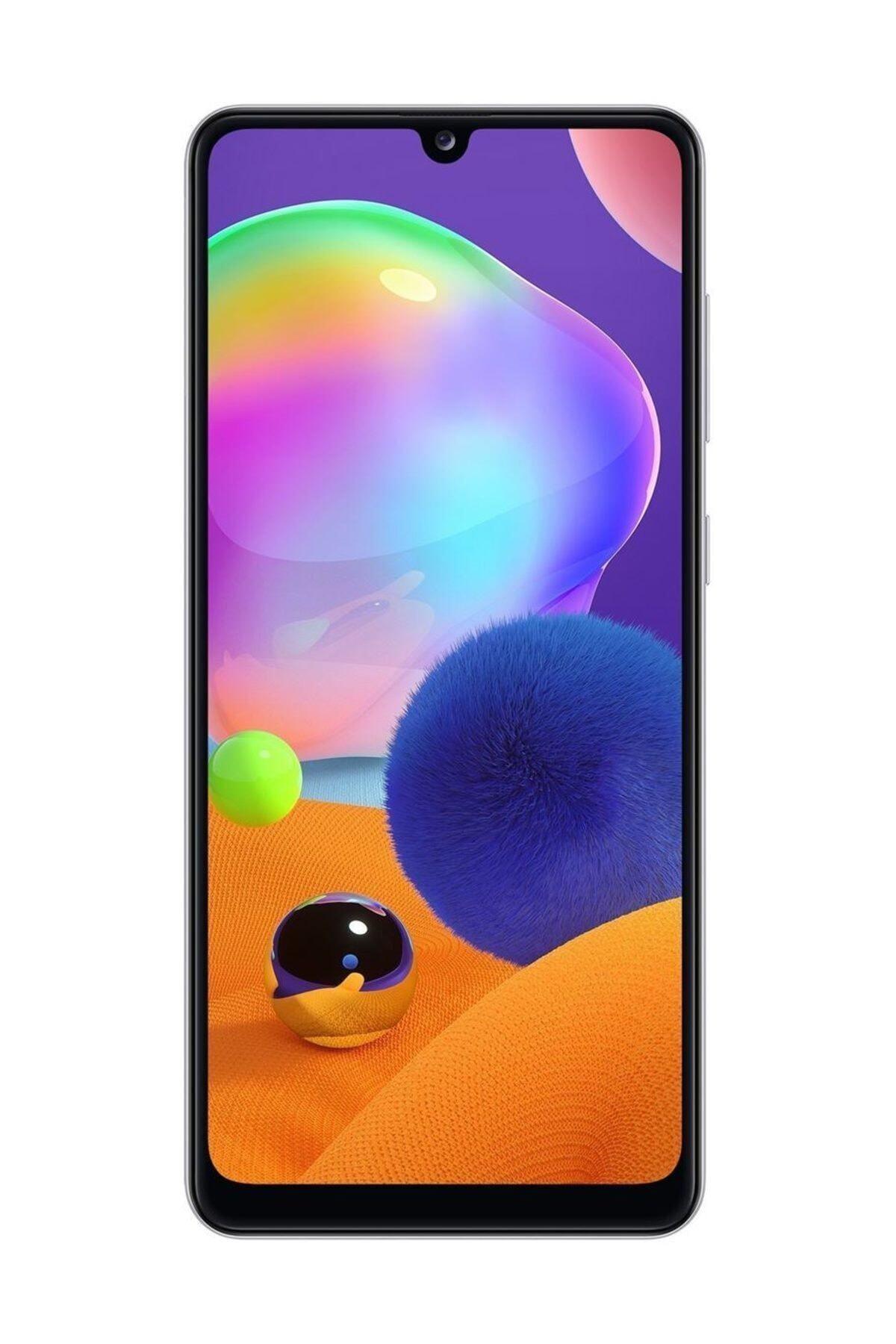 Samsung Galaxy A31 128GB (Çift SIM) Prizma Beyaz Cep Telefonu (Samsung Türkiye Garantili) 1