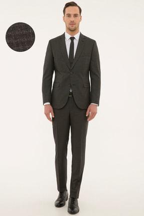 Pierre Cardin Erkek Füme Takım Elbise G021GL001.000.693996