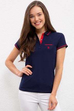 U.S. Polo Assn. Lacivert Kadin T-Shirt