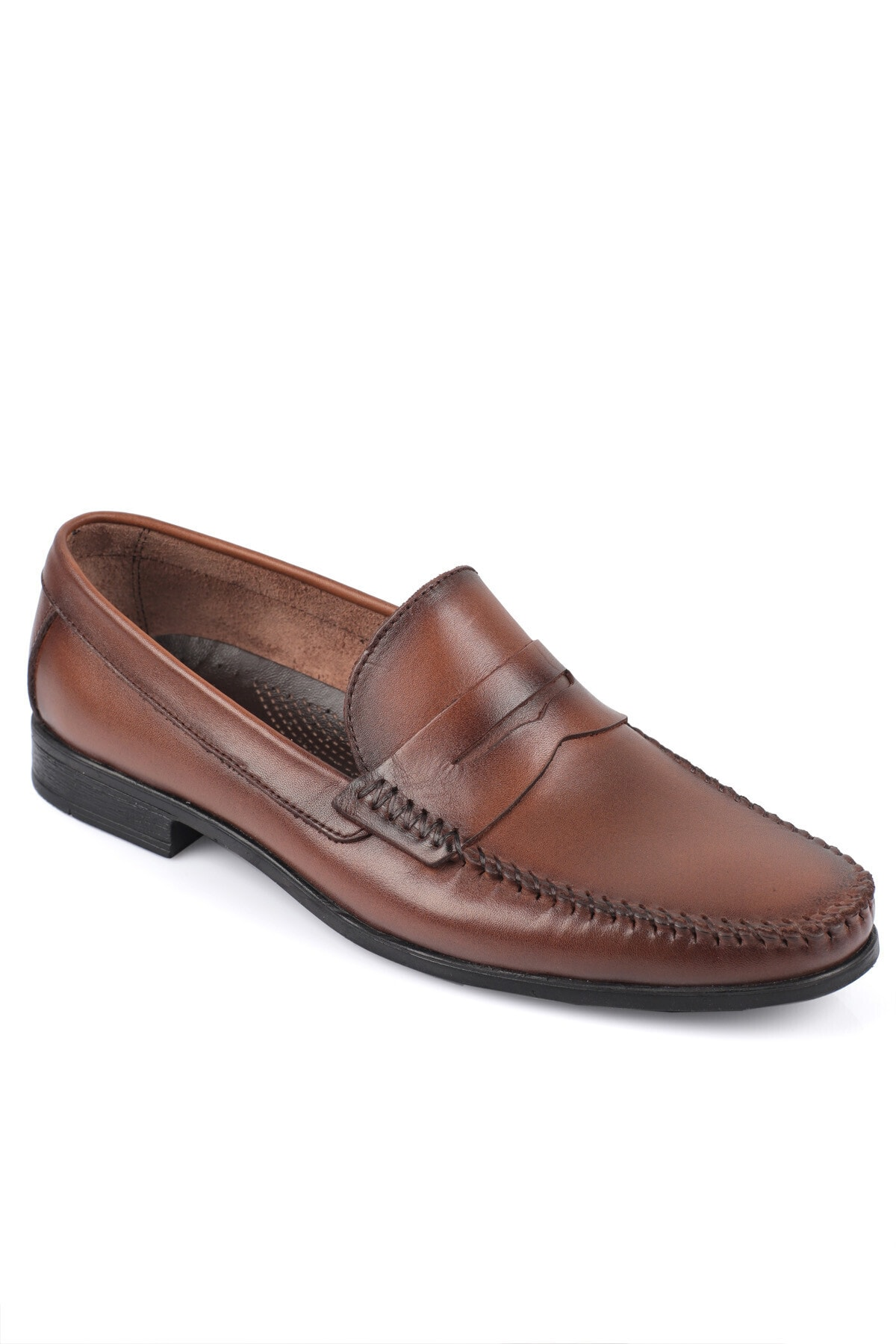 Daxtors Erkek Kahverengi Günlük Klasik Hakiki Deri Ayakkabı 2