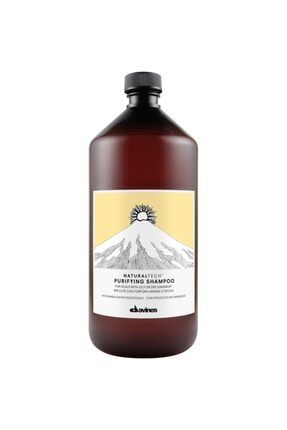 Davines Natural Tech Purifying Kepek Önleyici Şampuan 1000 Ml
