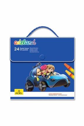 Adel 24 Renk Çantalı Pastel Boya 824100