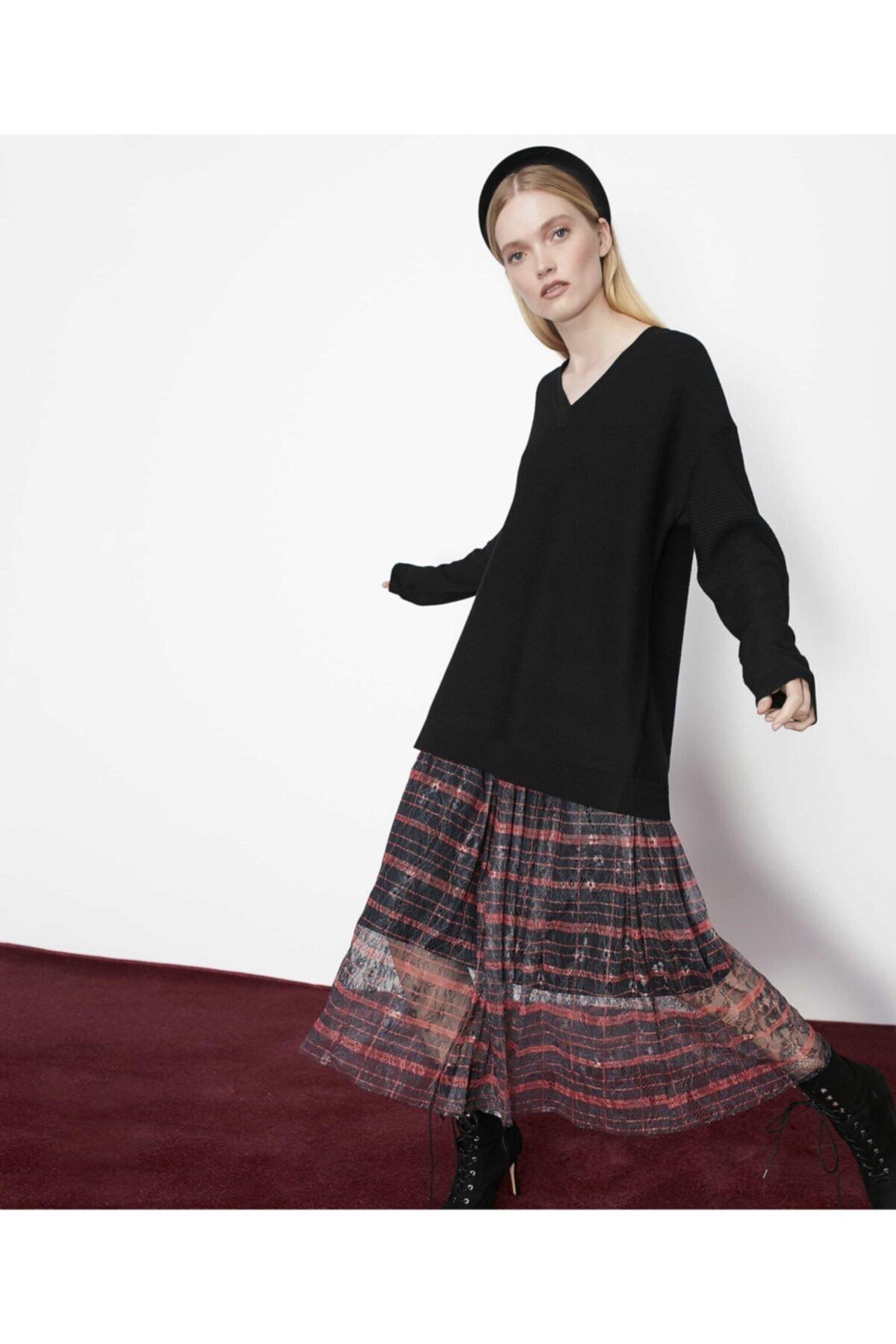 İpekyol Kadın Siyah Çift Parça Elbise 1