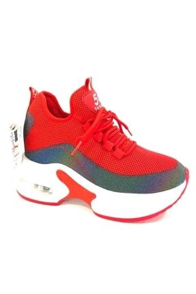 Guja Kadın Kırmızı Gizli Topuk Günlük Ayakkabı 20k333-1