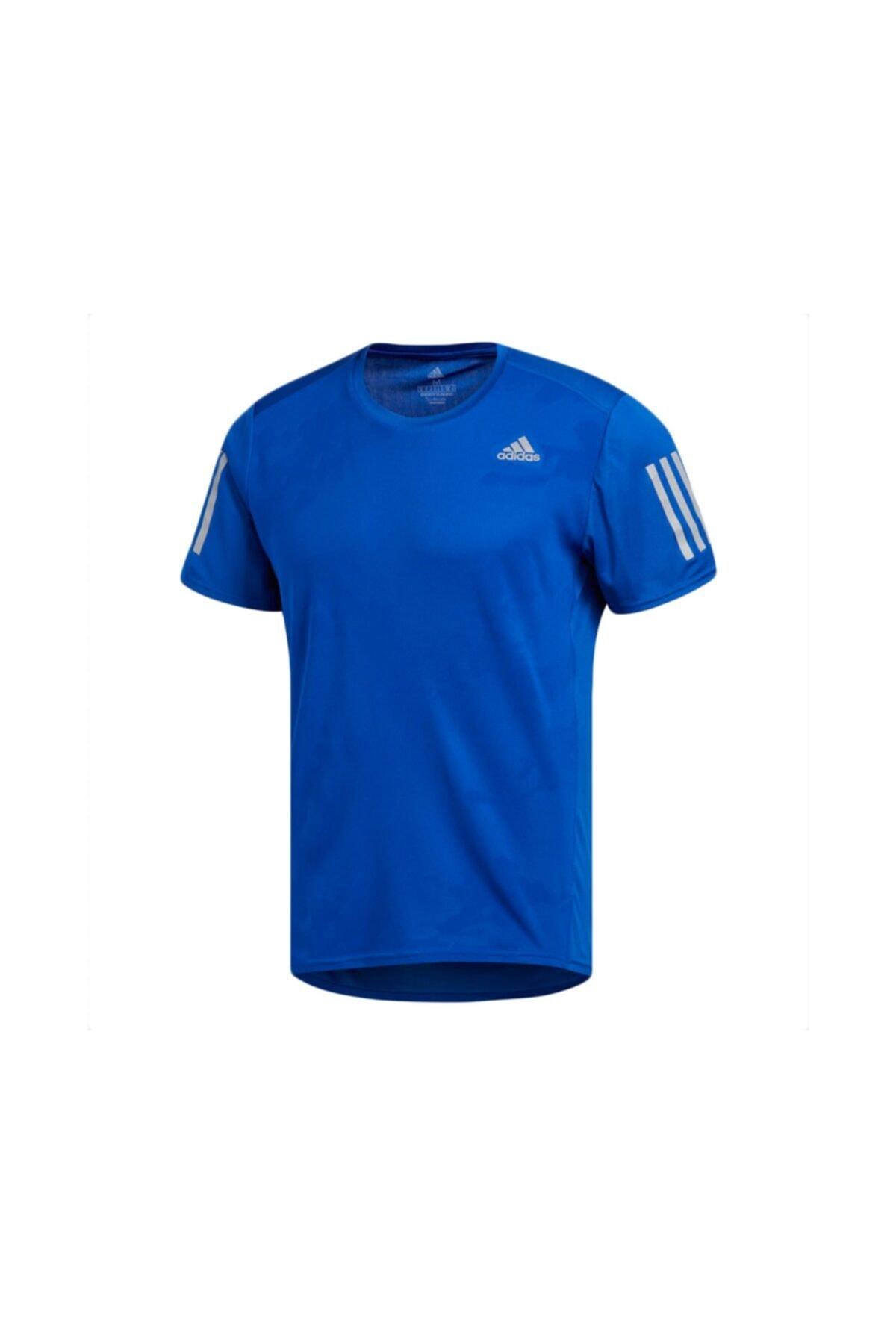adidas Erkek Mavi Response Tee M T-shirt Ce7262 1