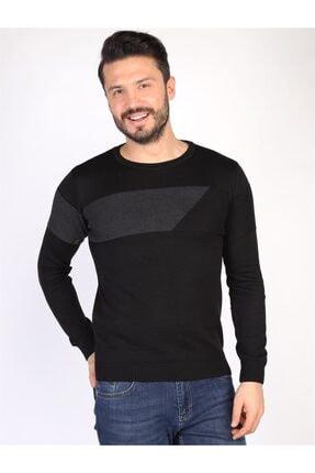 Twister Jeans Erkek Siyah Triko Kazak
