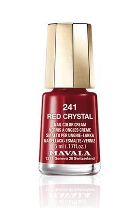 Mavala Kırmızı  Crystal Oje