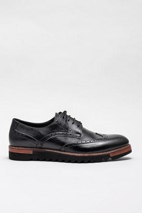Elle Shoes Erkek Arjun-1 Sıyah Casual Ayakkabı 20KRC052
