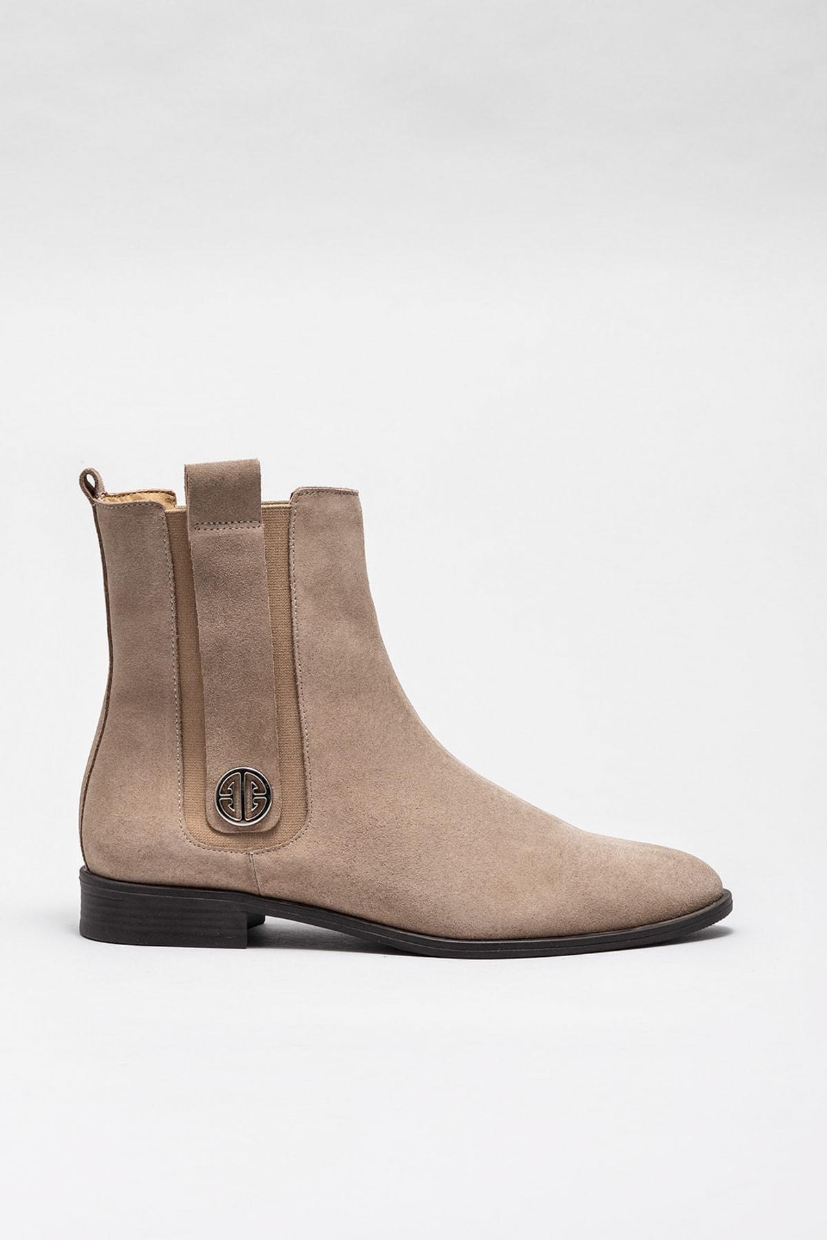 Elle Shoes Kadın Koloma Vızon Bot & Bootie 20KZA02161-88 1