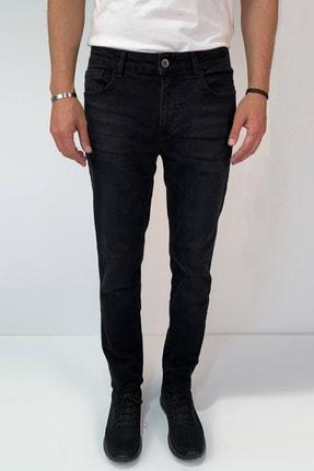 Avva Erkek Siyah Slim Fit Jean Pantolon E003500