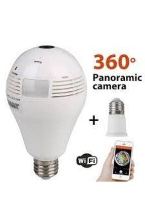 OEM 128 Gb Panoramik Ampul Tipi Hd Wifi Ip Kamera