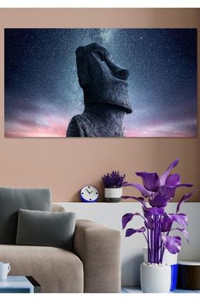 Hediyeler Kapında 70x100 Gökyüzü Ve Totem Kanvas Duvar Tablo