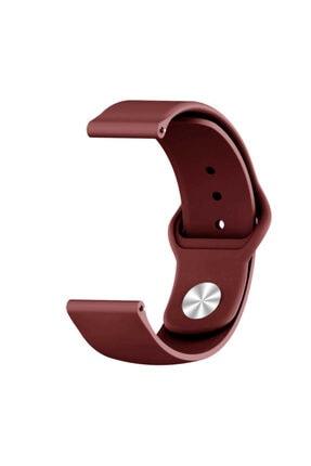 Fibaks Samsung Galaxy Watch Active 2 44mm Krd-11 Akıllı Saat Kordonu Klasik Silikon Kordon Kayış Bileklik