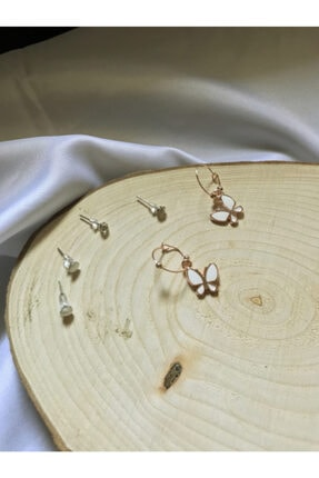 Accessories Kelebek 6'lı Küpe Set