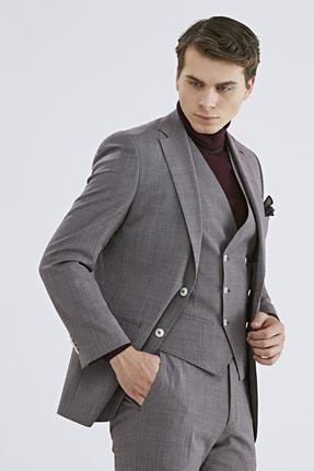 D'S Damat Ds Damat Yelekli Takım Elbise (Slim Fit)