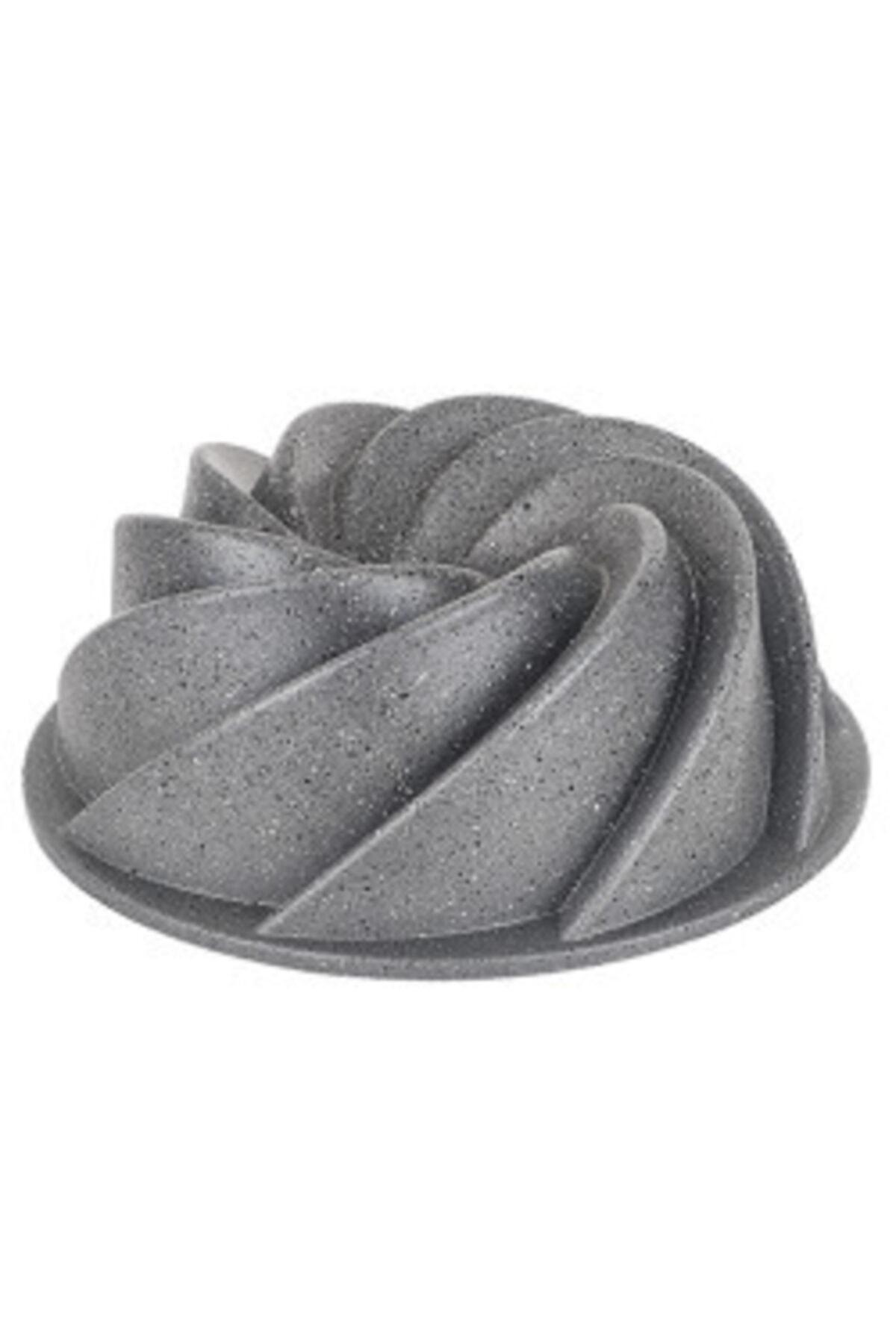 Tantitoni Gri Rüzgar Gülü Granit Döküm Kek Kalıbı 2